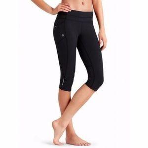 Athleta Dobby Be Free Capri workout leggings